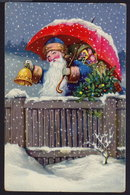 SANTA CLAUS JOYEUX NOEL WEIHNACHTEN CHRISTMAS OLD POSTCARD (see Sales Conditions) - Santa Claus