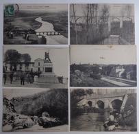 Dept 24 Lot De 70 Cartes Postales; Nontron, Bourdeilles, Terrasson, Perigueux,..... - Cartoline