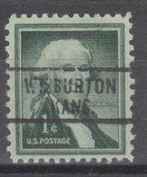 USA Precancel Vorausentwertung Preo, Locals Kansas, Wilburton L-1 HS - Vereinigte Staaten
