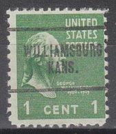 USA Precancel Vorausentwertung Preo, Locals Kansas, Williamsburg 704 - Vereinigte Staaten