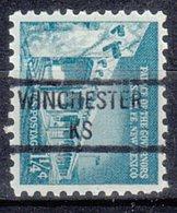 USA Precancel Vorausentwertung Preo, Locals Kansas, Winchester 841 - Vereinigte Staaten