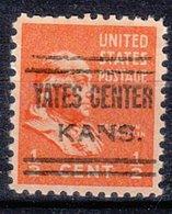 USA Precancel Vorausentwertung Preo, Locals Kansas, Yates Center 633 - Vereinigte Staaten