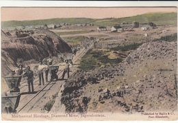 Orange River / Jagersfontein Postcards / Mining / Diamonds - Stamps