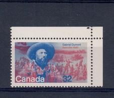Canada 1985 Gabriel Dumont Gomma Integra ** Fra.1204 - 1952-.... Regno Di Elizabeth II
