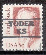 USA Precancel Vorausentwertung Preo, Locals Kansas, Yoder 872 - Vereinigte Staaten