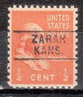 USA Precancel Vorausentwertung Preo, Locals Kansas, Zahah 745 - Vereinigte Staaten