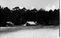 """85 - Saint Jean De Monts : Colonie Du Cercle St Joseph De Parthenay """" Les Chapelles """" - Camp De Toiles - Saint Jean De Monts"""