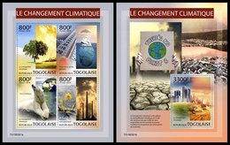 TOGO 2019 - Climate Change, Pollution M/S + S/S. Official Issue - Umweltverschmutzung