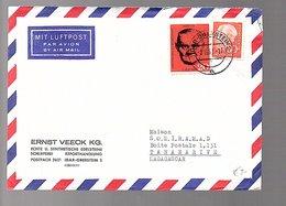 1961 Misch Heuss & Berlin Ernst Veeck Edelsteine Precious Stones Idar-Oberstein > Madagascar Tananarive (583) - Lettres & Documents
