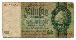 Germany - 50 Reichsmark - 1933 - 50 Mark