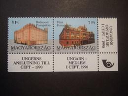 HUNGARY 1990. CEPT. MNH ** (V6-TVN) - Europa-CEPT