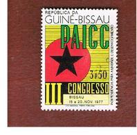 GUINEA BISSAU - SG 532 -    1977  PAIGC: PARTY CONGRESS  - USED ° - Guinea-Bissau