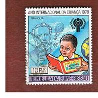 GUINEA BISSAU - SG 617 -    1980  INT. CHILDREN DAY: (J. VERNE)         - USED ° - Guinea-Bissau