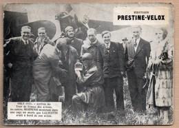 Vieux Papiers > Publicités Prestine Velox Arrivée Du Tour De France Des Avions 1931 REGINENSI - Advertising
