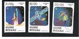 GUINEA BISSAU - SG 745.748 -    1983  COSMONAUTICS DAY          - USED ° - Guinea-Bissau