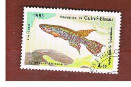 GUINEA BISSAU - SG 813 -    1983  FISHES          - USED ° - Guinea-Bissau