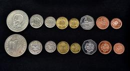Guyana Set Of Coins. 8 Coins 1 Set. EF - Guyana