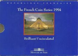 Francia, Serie Decimale 1994, Brillant Universel. - Francia