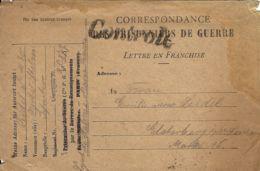 WWI PRIGIONIERI POW CAMP DEPOT CHALON SUR MARNE FRANCE 1915 GERMANY ELSTERBERG - 1900-44 Victor Emmanuel III.