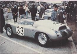 CPM - LE MANS - CIRCUIT 24 HEURES  - La Barquette PORSCHE De BONNIER Et HILL - Edition Mutuelles Du Mans - Le Mans