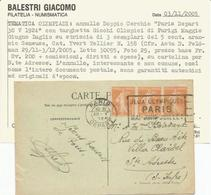 Francia, Olimpiadi Di Parigi, Targhetta 30.5.1924 Jeux Olimpiques Su Cartolina. - Francobolli