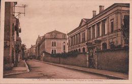 CAHORS Rue Wilson, La Maternité, L'hôpital Et Le Lycée Gambetta - Cahors