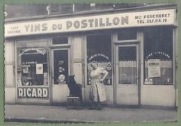 PHOTO COMMERCE 12,8 Sur 8,8 - SEINE SAINT DENIS - SAINT-OUEN SUR  SEINE - Vitrine  Café épicerie Porcheret - Animation, - Saint Ouen
