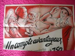 Affiche Authentique De Propagande Pour Le Travail En Allemagne - 1939-45