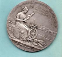 Medaille Argent De Dropy Emile ;  St Ame Des Filatures Corderies Et Tissages D'Angers Bessonneau Administrateur - Autres