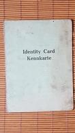 Kennkarte, Wilhelmshaven 1946 Mit Lichtbild - Dokumente