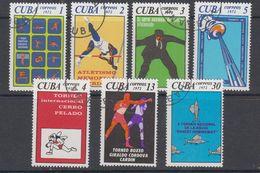 Cuba 1976 Sports 7v Used (cto) (44147A) - Cuba