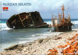 1 AK Kiribati * McKean Island - Korean Shipwreck - Eine Insel Der Phoenix Islands - Seit 2010 UNESCO Weltnaturerbe * - Kiribati