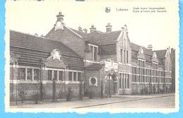 Lokeren-+/-1930-Stads Lagere Jongensschool-Ecole Primaire Pour Garçons-Uitg.J.Rombaut, Markt, 51, Lokeren - Lokeren