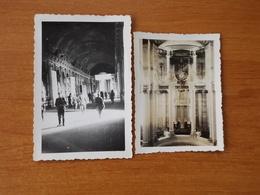 WW2 GUERRE 39 45 VERSAILLES ORGUE GALERIE DES GLACES SOLDATS ALLEMANDS - Versailles