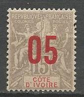 COTE D'IVOIRE N° 36 NEUF*   TRACE DE CHARNIERE  / MH - Neufs
