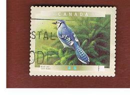 CANADA   -  SG 1977  -  2000   CANADIAN BIRDS: CYANOCITTA CRISTATA      -      USED - Usati