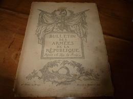 1917 Le 7 Nov: BAR:  La Bataille Italienne;Le Poilu Américain; L'école Mutuelle Du Cuistot (de L'Echo Des Marmites); Etc - Revues & Journaux