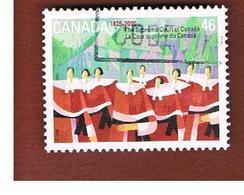 CANADA   -  SG 1986  -  2000   SUPREME COURT     -      USED - 1952-.... Regno Di Elizabeth II