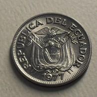 1977 - Equateur - Ecuador - 50 CENTAVOS - KM 81 - Equateur
