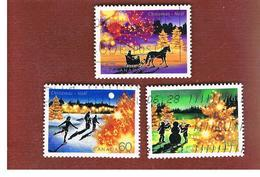 CANADA   -  SG 2110.2112      -  2001 CHRISTMAS: COMPLET SET OF 3       -      USED - 1952-.... Regno Di Elizabeth II