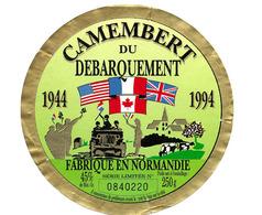 Etiquette Fromage Fromagerie Normand Du Débarquement  Voir Description Occasion - Cheese
