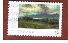 CANADA   -  SG 2355  -  2005  CANADIAN ART: DOWN IN LAURENTIDES      -      USED - Usati