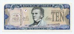 Liberia - 10 Dollars - Liberia