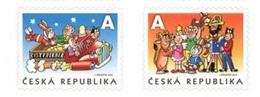 CZ 2019-1030-1 50 YEARS OF THE ČTYŘLÍSTEK COMICS, CZECH, 1 X 2v, MNH - Tchéquie
