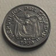 1969 - Equateur - Ecuador - 20 CENTAVOS - KM 77.1c - Equateur