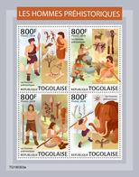 TOGO 2019 - Prehistoric Human, Archery. Official Issue - Tiro Al Arco