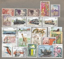 LAOS Small Used (o) Stamps Lot #24871 - Laos