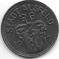 *notgeld Alsfeld 10 Pfennig 1917  Zn 155.2 - Autres
