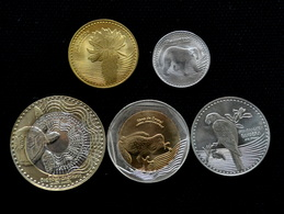 Colombia 5 Coins Set. 2012 UNC - Colombie