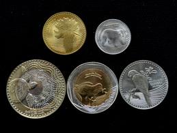 Colombia 5 Coins Set. 2012 UNC - Kolumbien